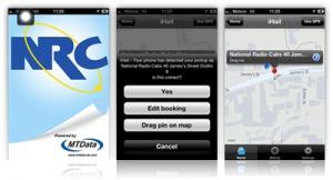 NRC Taxi App Screenshots